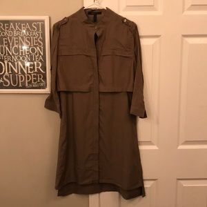 Military style dress